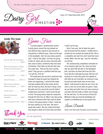 Dairy Girl Direction_MayJuneJuly2019_cover