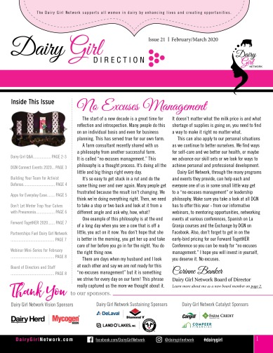 Dairy Girl Direction_FebMarch2020